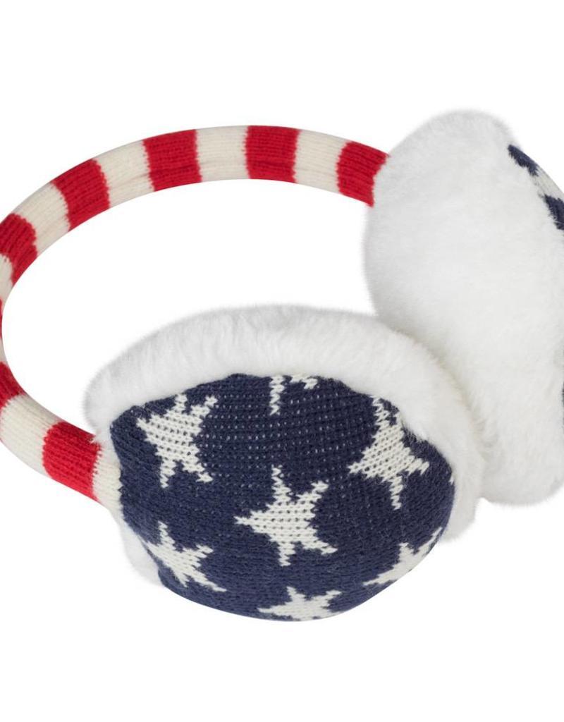 Old Glory Knit Earmuffs
