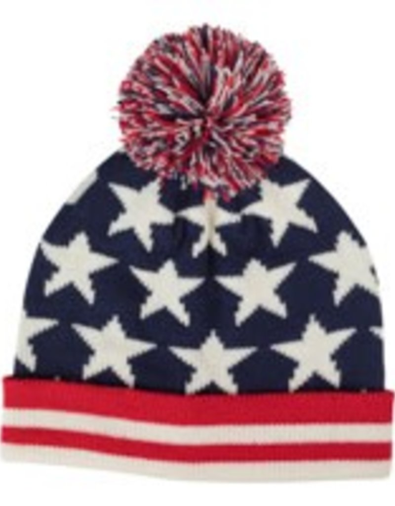 Old Glory Knit Pom-Pom Hat