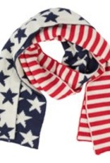 Old Glory Knit Scarf