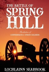 Sea Raven Press The Battle of Spring Hill Book