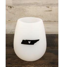 Tennessee Silicone Wine Cup