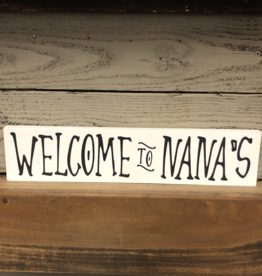 """Higher Plane Impressions Welcome To """"Grandparent"""" Sign - Assorted"""
