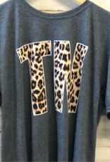 Couture Tee Company TN Leopard Print T-Shirt
