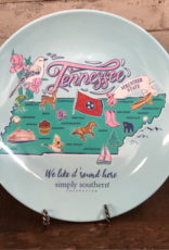 Simply Southern Tennessee Plate