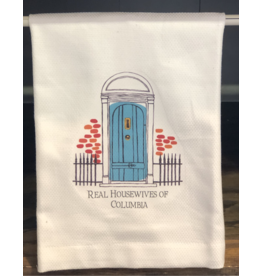 Real Housewives Of Columbia Tea Towel