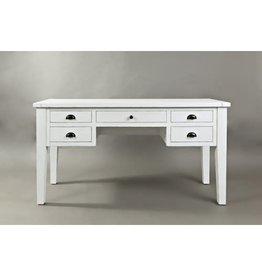 Desk - Artisan's Craft 5-Drawer, Weathered White