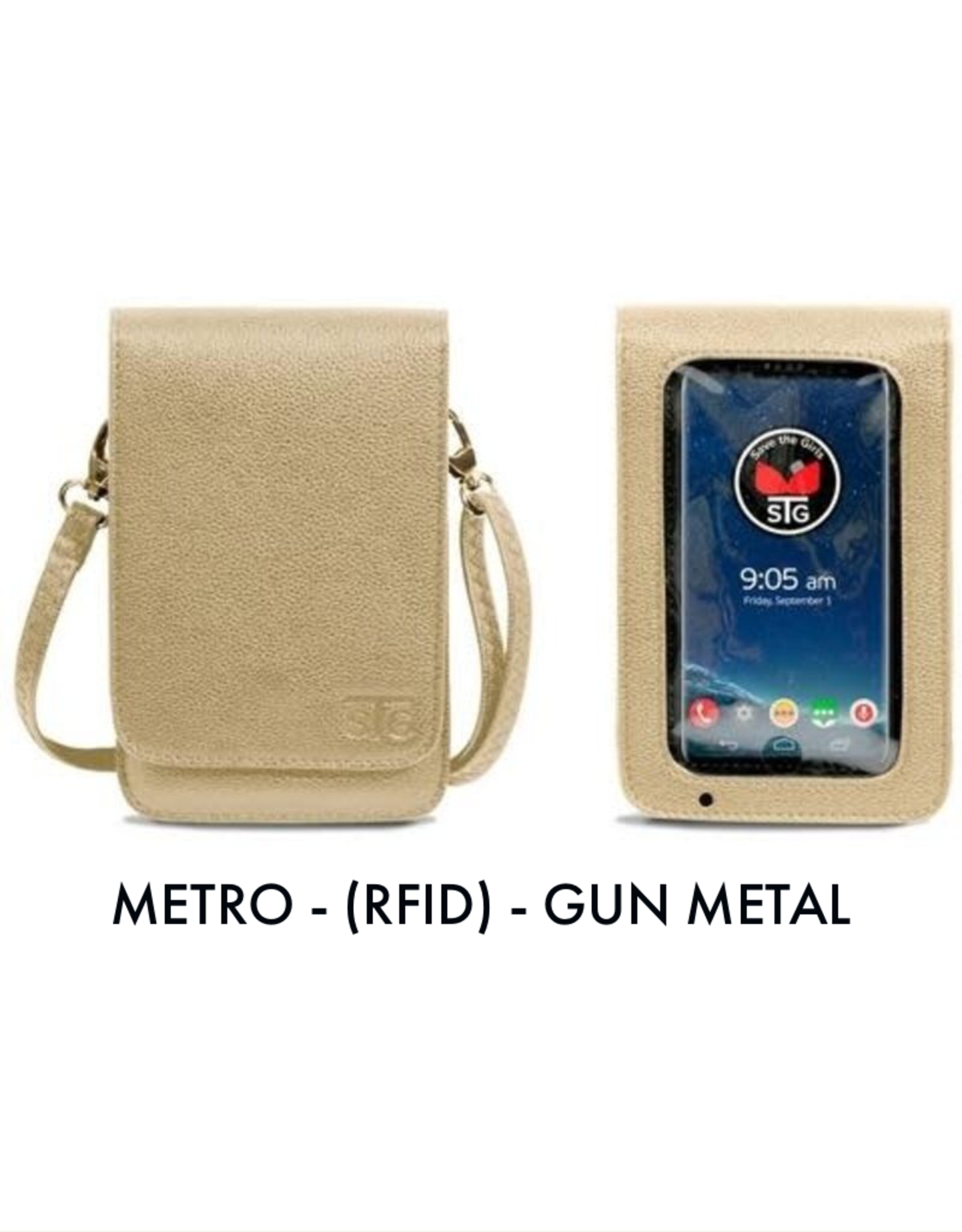 Save The Girls Cell Phone Purse - Metro