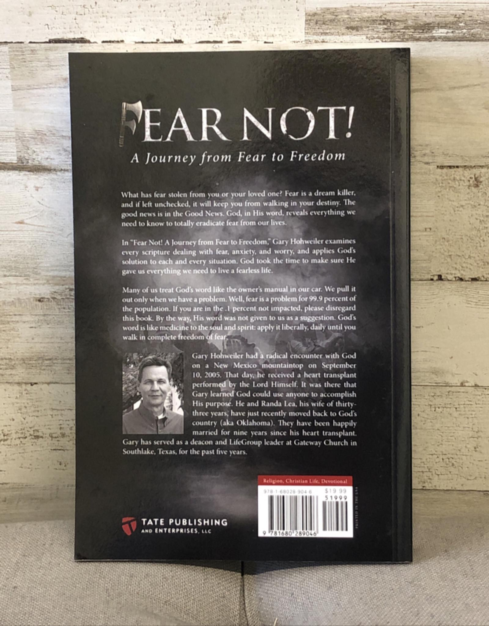 Vendor 37 - Fear Not (Book)