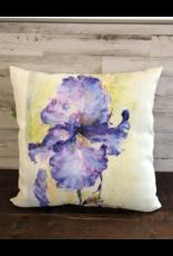 Indoor / Outdoor Iris Pillow