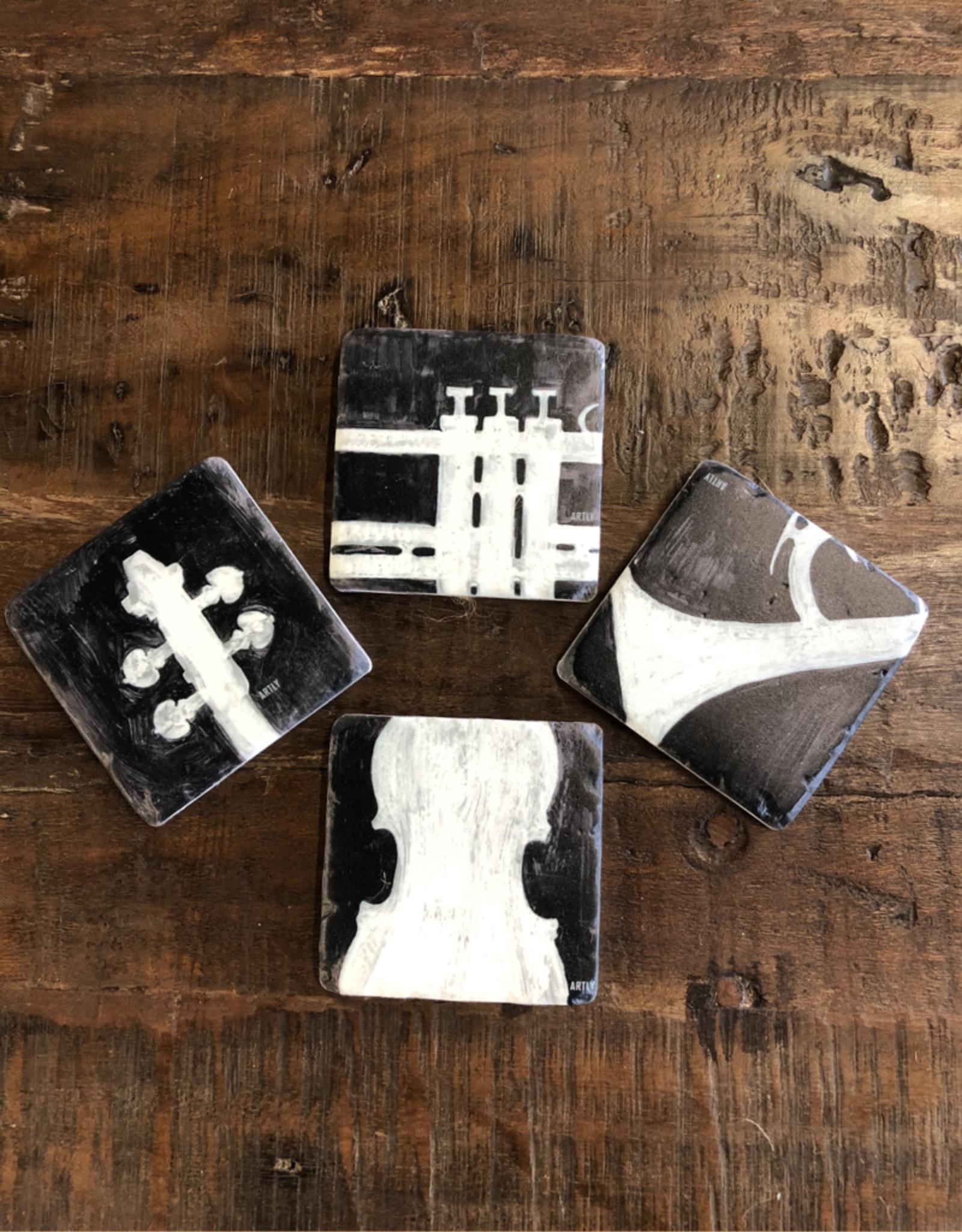 Music Coasters - Set of 4