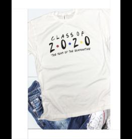 Class Of 2020 Quarantine T Shirt