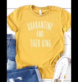 Quarantine and Tiger King T Shirt