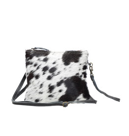 Myra White & Black Shade Bag