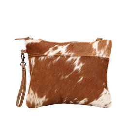 Myra Ivory & Drab Hairon Small & Crossbody