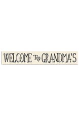 Welcome to Grandma's Sign