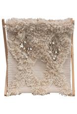 Moroccan Wedding Quilt Magazine Rack/Storage with Folding Wood Frame