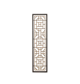 Handmade Wood & Metal Wall Décor with Wood Frame (Hang horizontal or vertical)