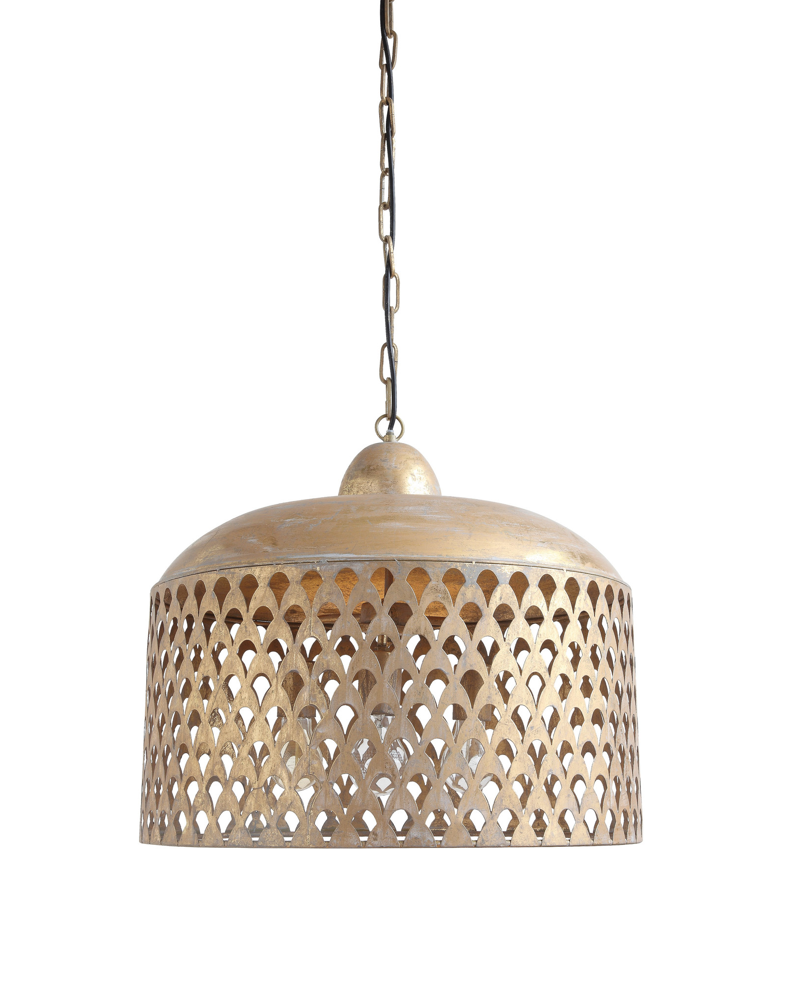 Gold Metal Pendant Light