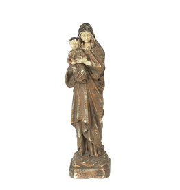 Reproduction of Vintage Mary & Child Statue