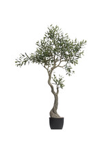 "60-1/4""H Faux Olive Tree in Pot"