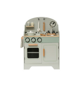 Wood Kitchen Playset (Set of 9 Pieces)