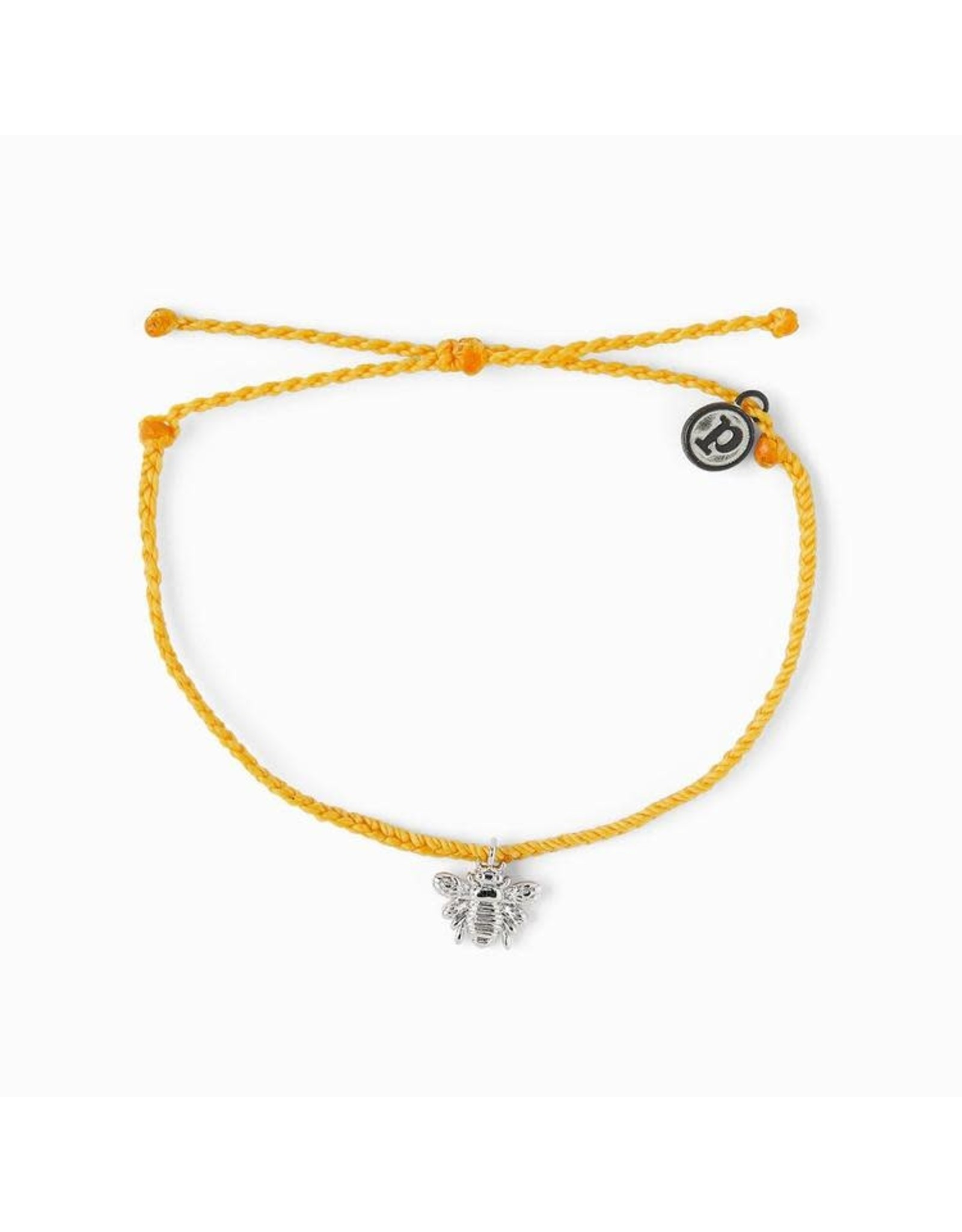 Puravida Bracelets Bee Silver Dark Yellow