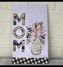 Mom I Love You Tea Towel