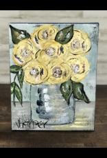Jill Harper - 11x14 Yellow Floral In Vase