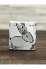Jill Harper - 4x4 Bunny with Flowers