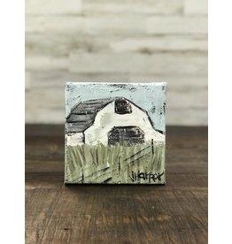 Jill Harper - 6x6 White Barn