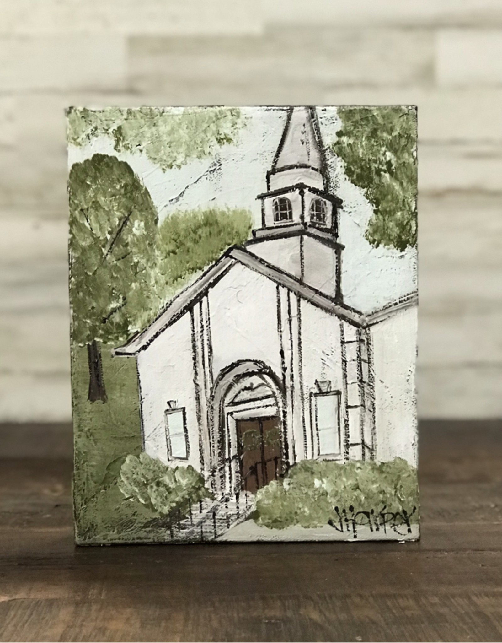Jill Harper - 8x10 White Church