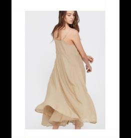 Long Flowy Dress - Cocoa