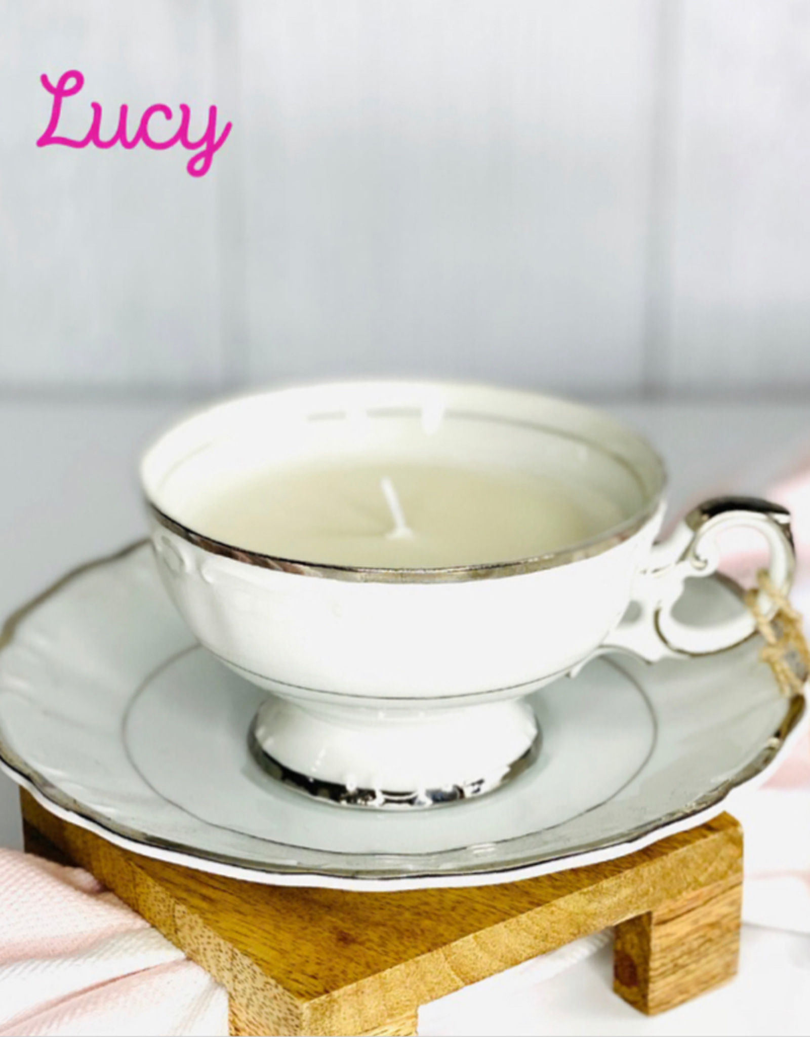 Teacup Candle - Scent TN Whiskey