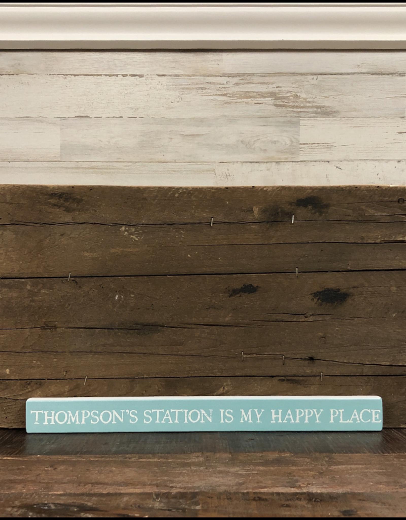 "Happy Place Talking Stick - 16"" x 1.5"""