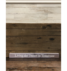 "Living The Dream Talking Stick - 16"" x 1.5"""