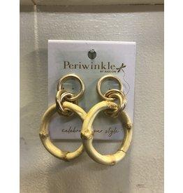 Gold Babmoo Hoop Earrings