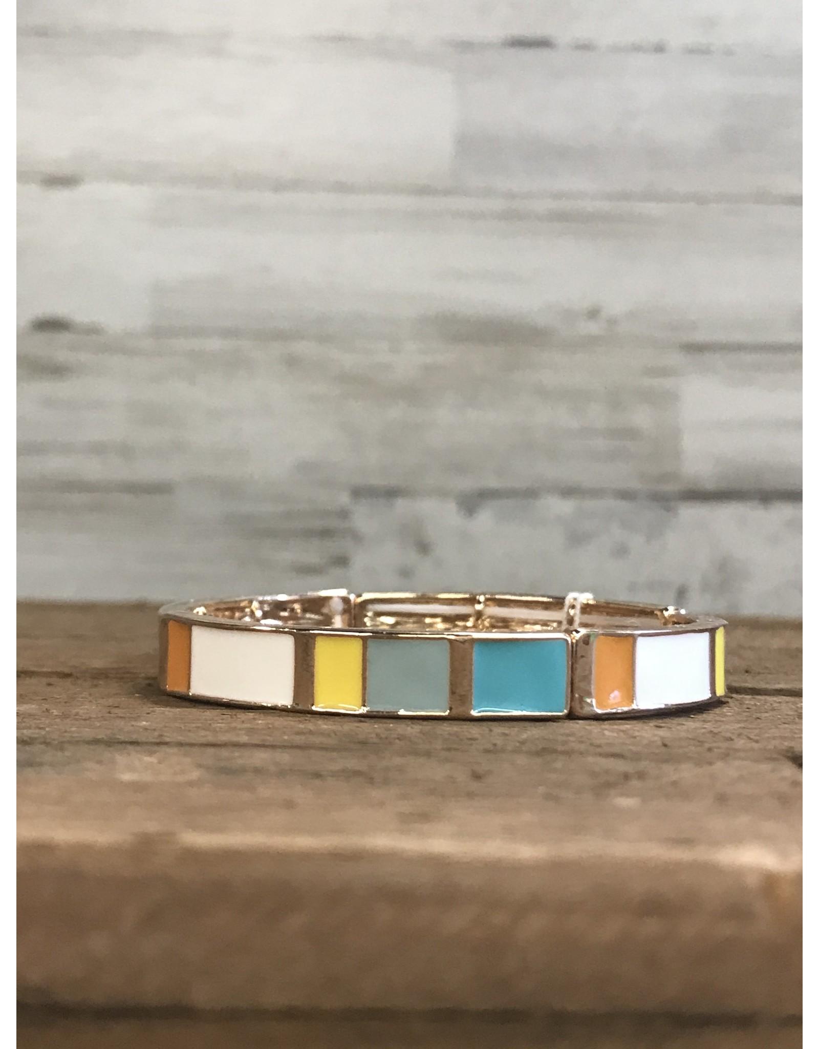 Mint Tone Bangle Bracelet