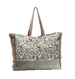 Myra Floral Print Weekender Bag