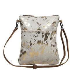 Myra Speckled Leather Small Bag