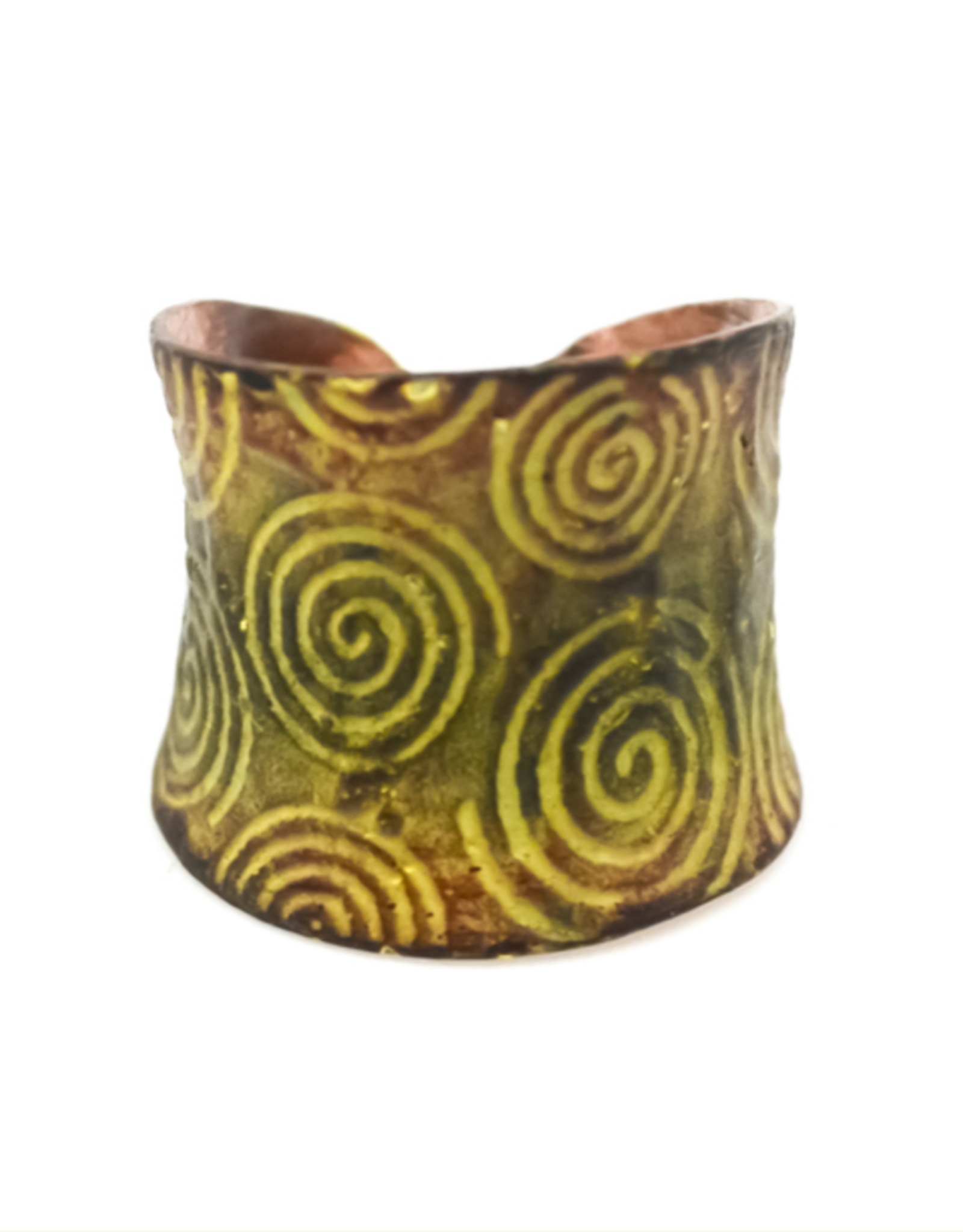 Copper Patina Ring 280