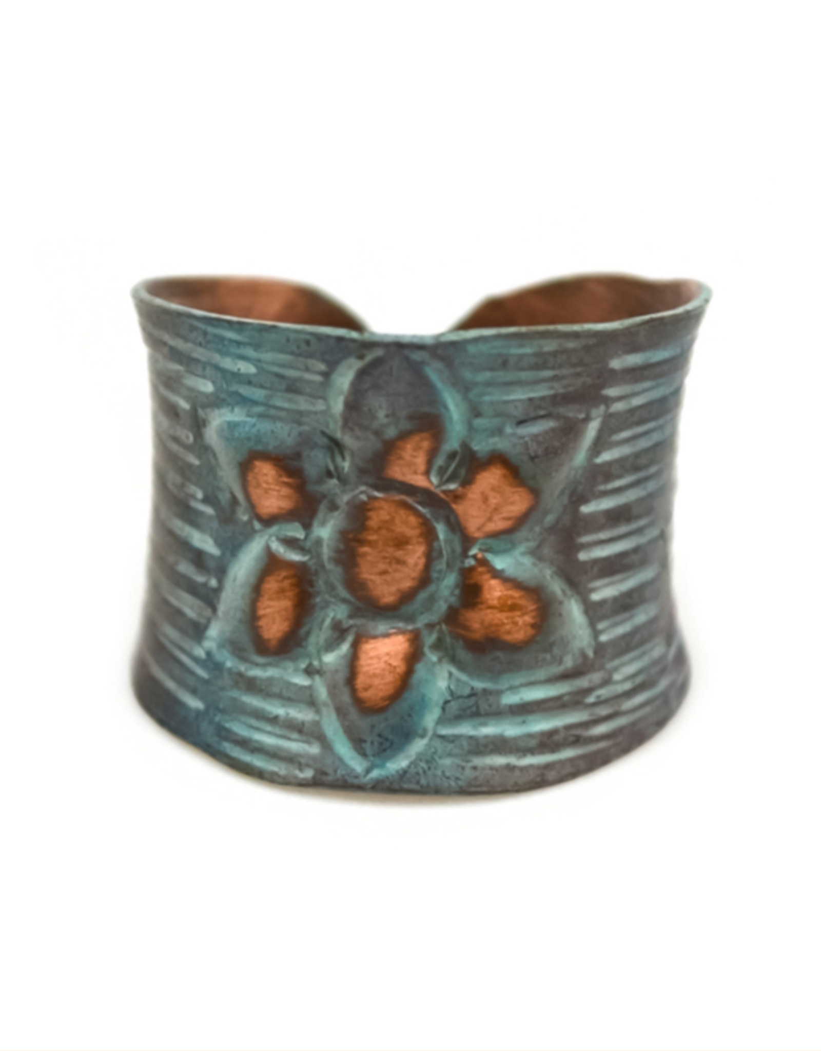 Copper Patina Ring 282