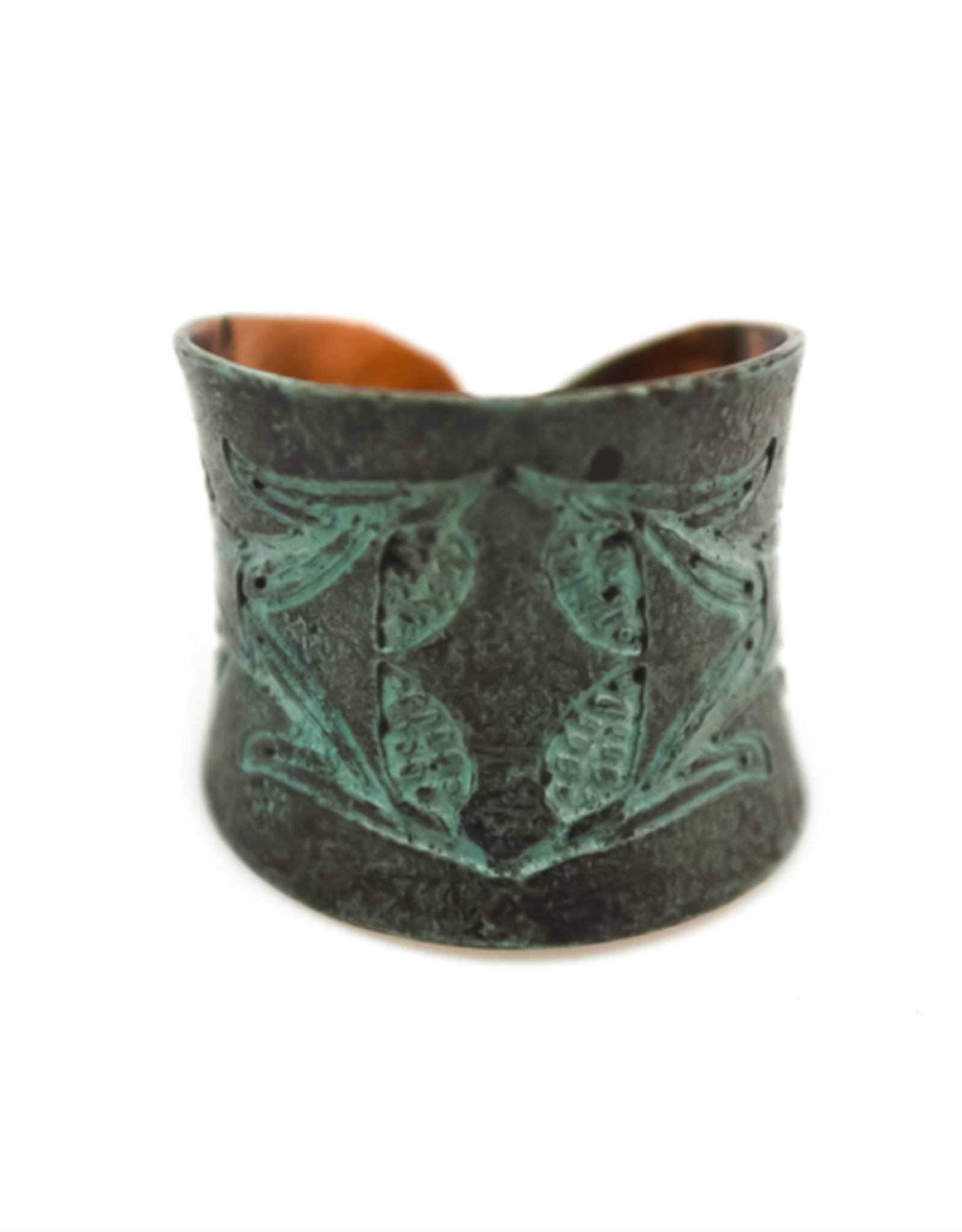 Copper Patina Ring 284
