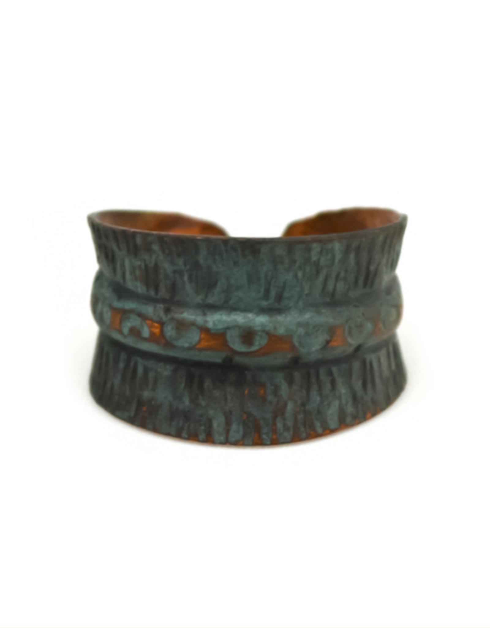 Copper Patina Ring 286