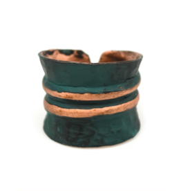 Copper Patina Ring 287