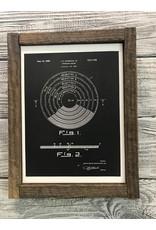 Album - Vinyl  - Patent Color & Frame: Parchment/Tobacco Stick