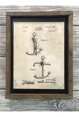 Anchor - Patent Color & Frame: Parchment/Tobacco Stick