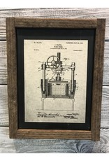 Wine Press Patent