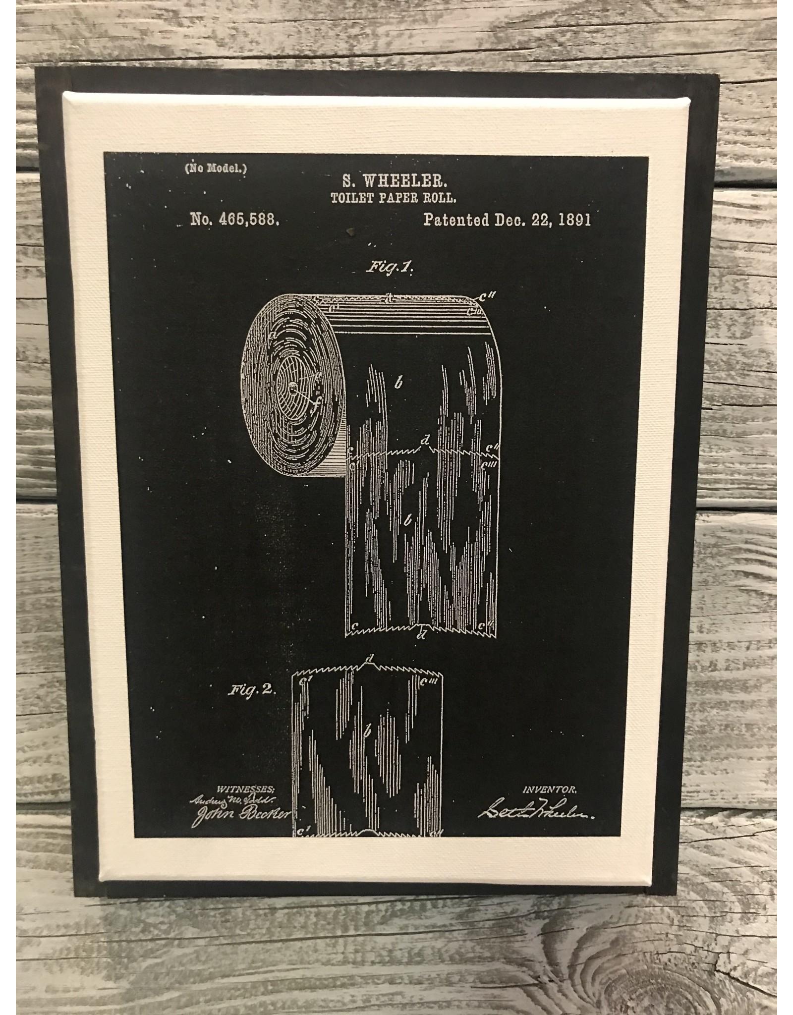 Vendor 118 - Toilet Paper - Black/Black