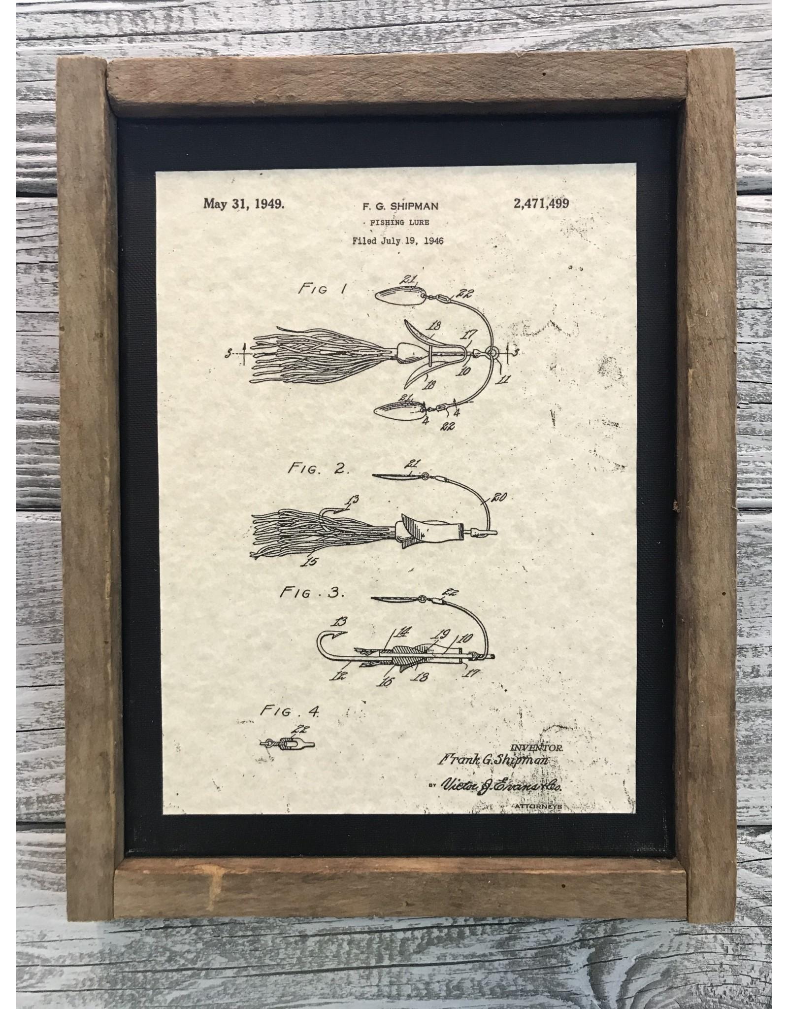 Vendor 118 - Fishing Lure 1949
