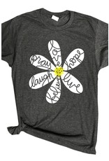 New Vintage Daisy Inspired Words Tee